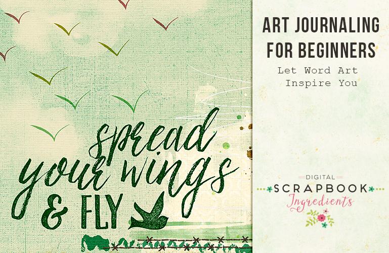 Art Journaling: Word Art