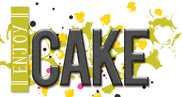 Cake Art Words : Tutorial: Playing with alphas