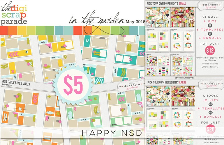 Digiscrap Parade May 2015