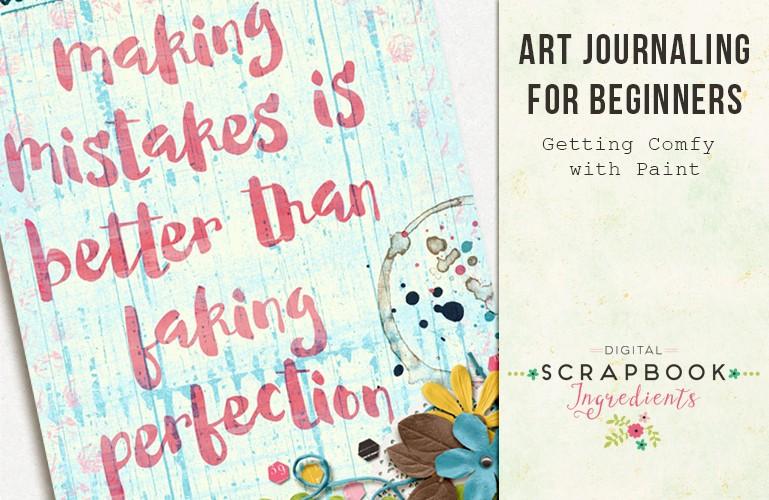 Art Journaling: Paint