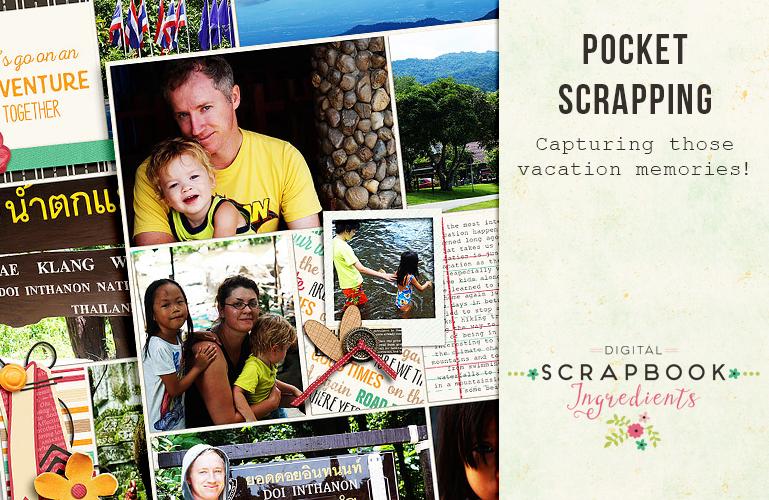 Pocket scrapbooking: Vacation memories