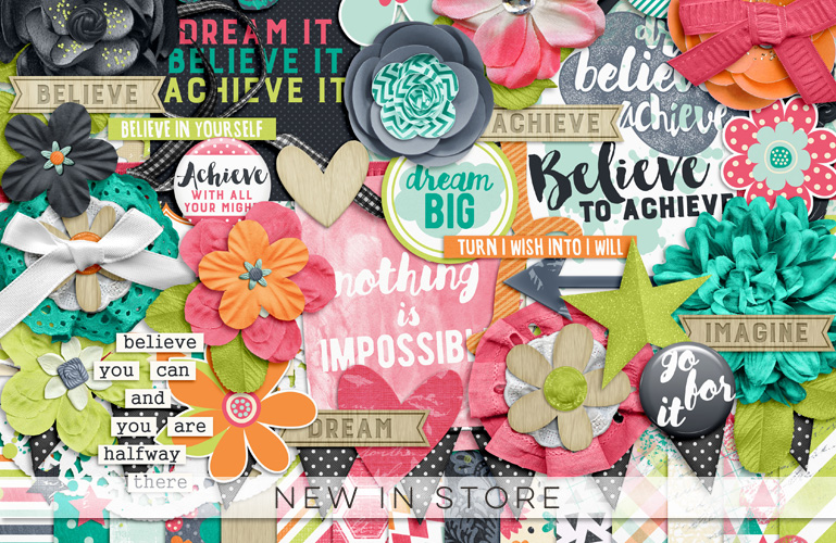 New in store: Believe To Achieve