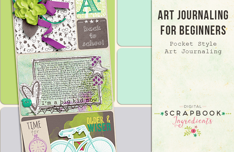 Art Journaling: Pocket style