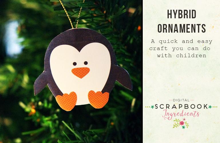 Hybrid: Christmas ornaments