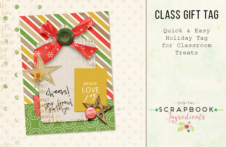 Hybrid: Class gift tags