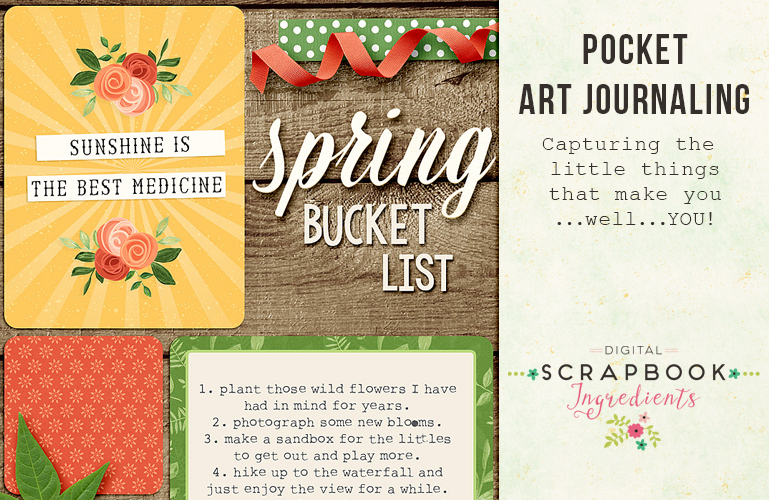 Pocket scrapbooking: Art journaling about you