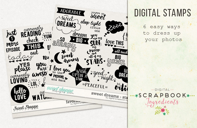 Inspiration: Digital stamps
