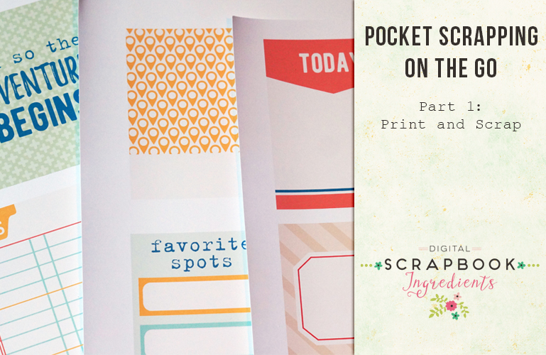 Tips and tricks: Pocket scrapping on the go 1