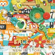 New - Love To Learn - Digital Scrapbook Ingredients