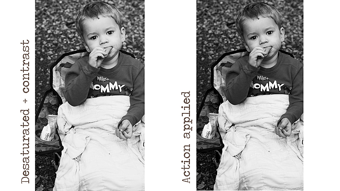 Tips and tricks: Adding contrast to black&white photos: digital-scrapbook-ingredients.com/tips-and-tricks-adding-contrast...