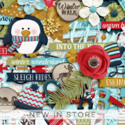 New - WinterWalk - Digital Scrapbook Ingredients