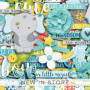 New - Bundle Of Joy - Digital Scrapbook Ingredients