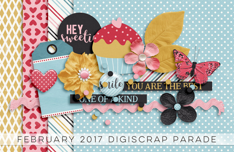 DigiScrap Parade February 2017