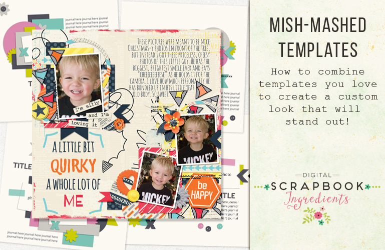 Mish-mashed templates