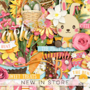 New - Get Festive Easter - Digital Scrapbook Ingredients