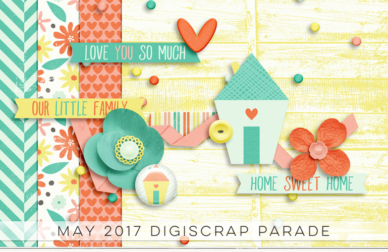 DigiScrap Parade May 2017