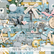 New - Little One - Digital Scrapbook Ingredients