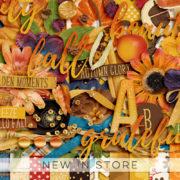 New - This Autumn - Digital Scrapbook Ingredients