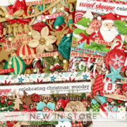 New - Celebrating Christmas - Digital Scrapbook Ingredients