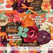 New - Thanksgiving - Digital Scrapbook Ingredients
