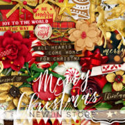 New - Get Festive Christmasr - Digital Scrapbook Ingredients