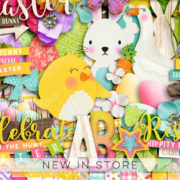 New - Easter Fun - Digital Scrapbook Ingredients