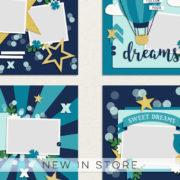 New - Twinkle Twinkle Templates - Digital Scrapbook Ingredients