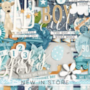 New - GTL-BabyBoy - Digital Scrapbook Ingredients