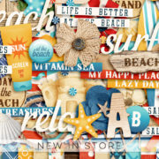 New - Sand - Digital Scrapbook Ingredients