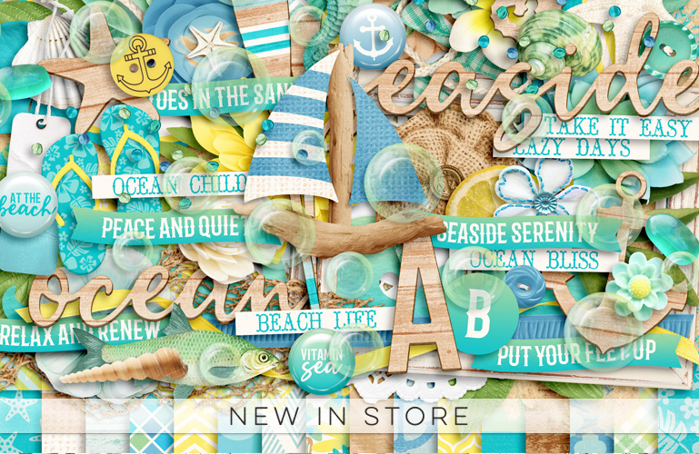 New in store: Seaside Serenity
