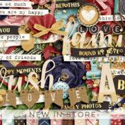 New - Bound By Love - Digital Scrapbook Ingredients