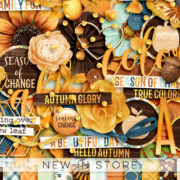 New - Season Of Change - Digital Scrapbook Ingredients
