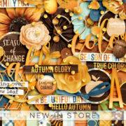 New - Season Of Change - Digital Scrapbook Ingredients