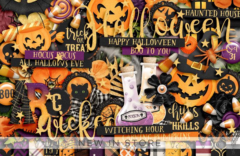 New in store: Happy Halloween