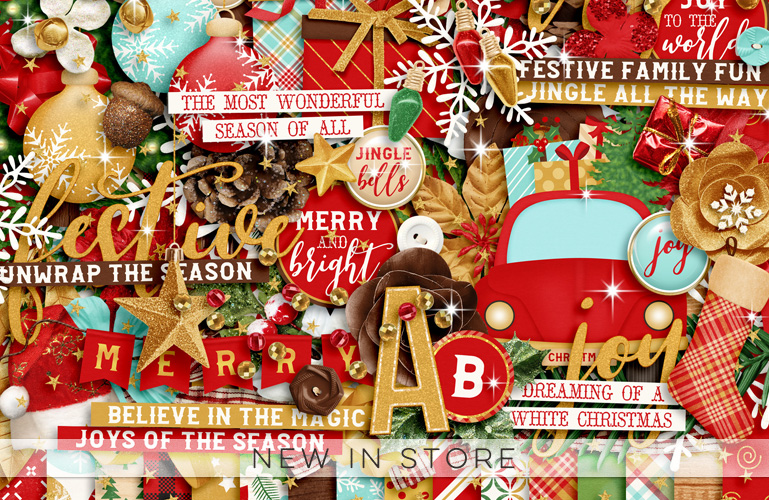 New in store: Christmas Season: Merry and Bright