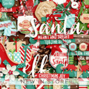 New - Naughty or Nice - Digital Scrapbook Ingredients