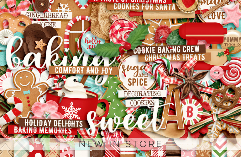 New in store: Christmas Season: Sugar and Spice