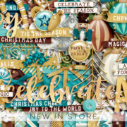 New - Celebrate The Season - Digital Scrapbook Ingredients