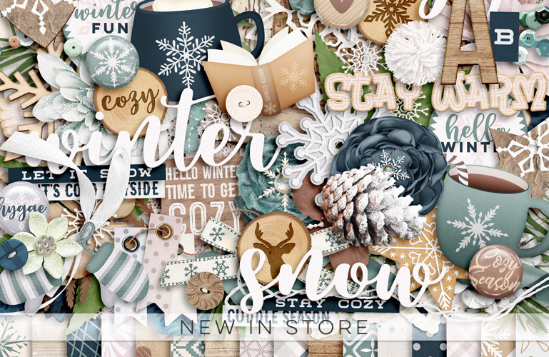 Cozy Winter Days and Month By Month Templates