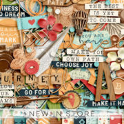 New - Make Your Own Path - Digital Scrapbook Ingredients