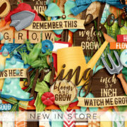 New - Watch Me Grow - Digital Scrapbook Ingredients