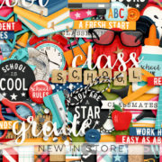 New - School Rules - Digital Scrapbook Ingredients