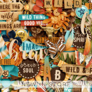 New - Wild Thing - Digital Scrapbook Ingredients