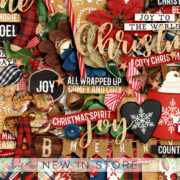 New - Comfy Cozy - Digital Scrapbook Ingredients