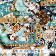 New - Winter Days - Digital Scrapbook Ingredients