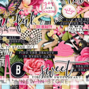 New - Everyday Beauty - Digital Scrapbook Ingredients