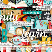 New - Home Activities - Digital Scrapbook Ingredients