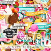 New - SummerSweetness - Digital Scrapbook Ingredients