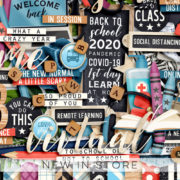 New - Different Year - Digital Scrapbook Ingredients