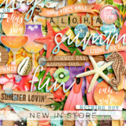 New - Live The Life - Digital Scrapbook Ingredients